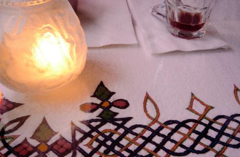 ethiopian table cloth