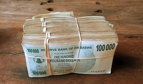Zimbabwe cash